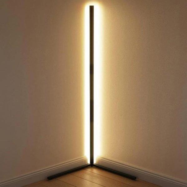 Alfonso Metal Led Lambader - SİYAH 150x30cm (1)