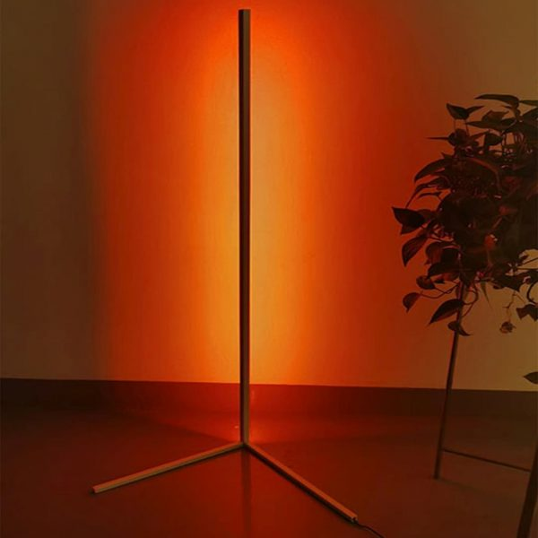 Alfonso Metal Led Lambader - BEYAZ 150x30cm (1)