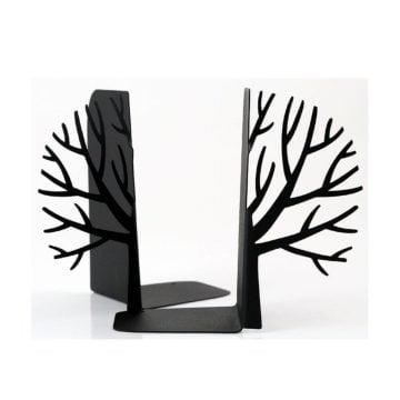 Ağaç Figürlü Dekoratif Metal Kitap Tutucu