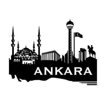 Ankara Dekoratif Metal Duvar Tablosu