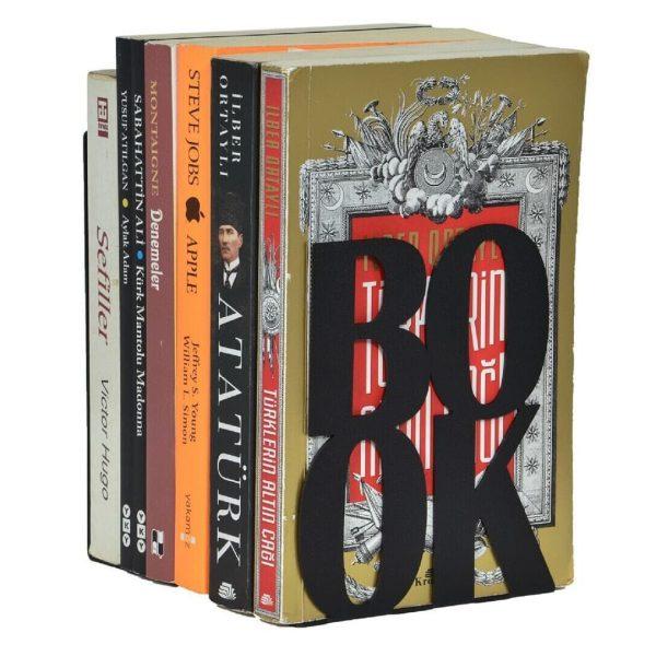 Book Dekoratif Metal Kitap Tutucu (2)