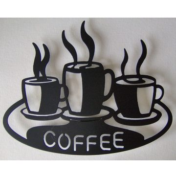 Coffee Metal Tablo 40cm x 50cm T236