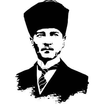 Dekoratif Duvar Metal Tablosu | Atatürk