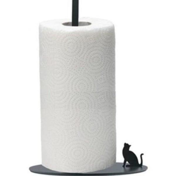 Kedi Kuş Figürlü Kağıt Havluluk