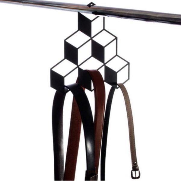 Metal Askılık Dolap İçi Dekoratif Metal Organizer