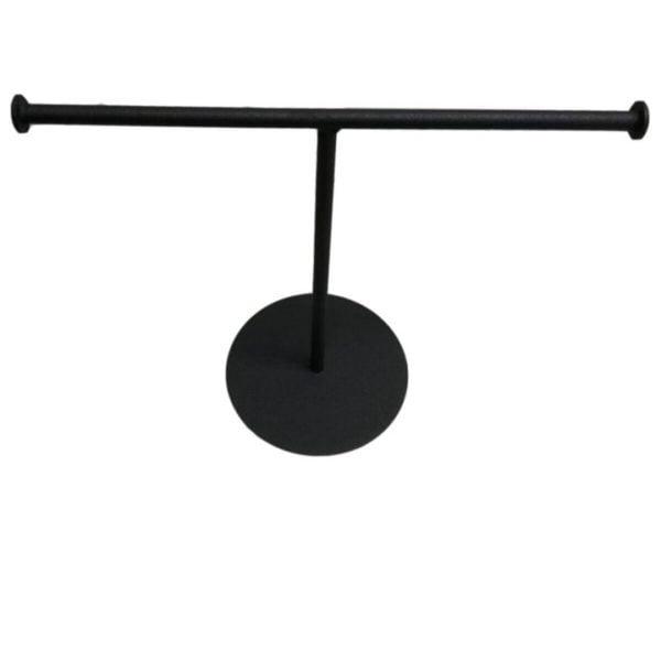Metal Takı ve Aksesuar Standı - Siyah